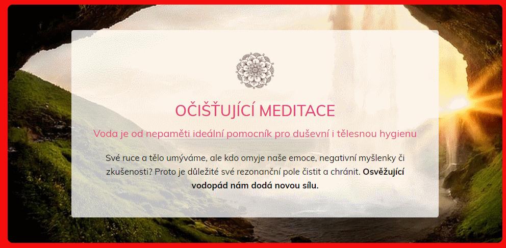 ocistujici meditace